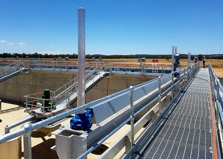 Parkes Sewerage and Water Treatment Plant